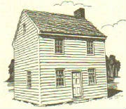 GANDY HOUSE-1815: Historical Preservation Society of Upper Twp, Cape May County, NJ
